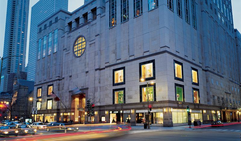 900 North Michigan Shops em Chicago