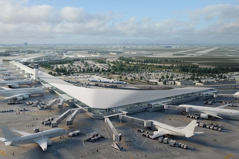 Quantas milhas é uma passagem aérea para Chicago: Aeroporto Internacional O'Hare
