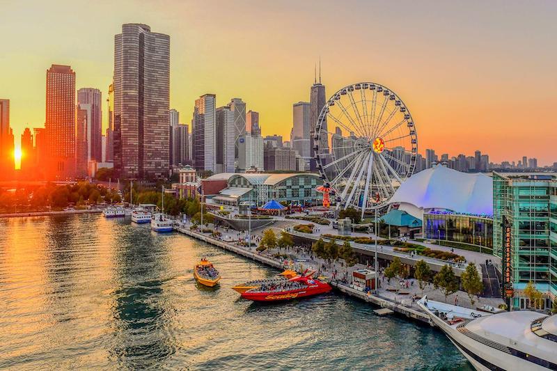 Navy Pier em Chicago: atrações