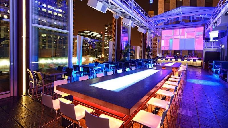 Bar Roof of theWit em Chicago