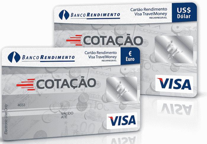 Cartão pré-pago Cotação