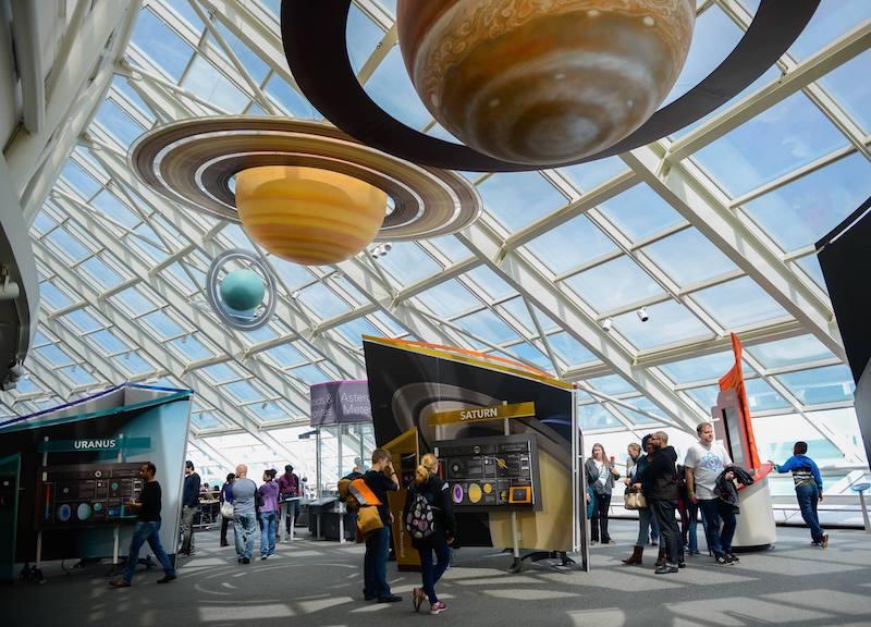 Adler Planetarium em Chicago