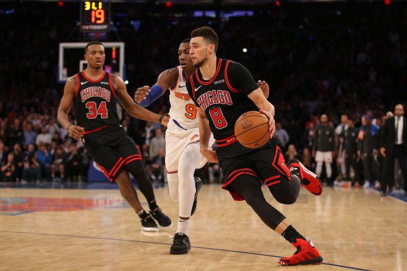 Jogo de basquete do Chicago Bulls
