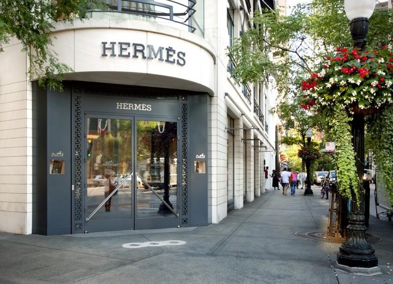 Loja Hermès na Oak Street em Chicago