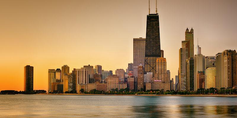 Manhã em Chicago