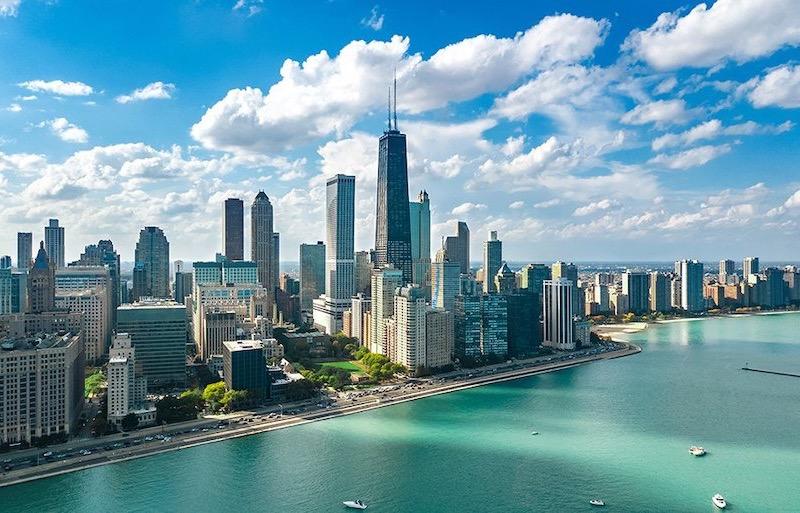 Paisagem em Chicago