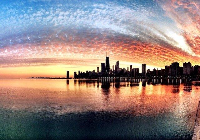 Fuso horário de Chicago x Brasil