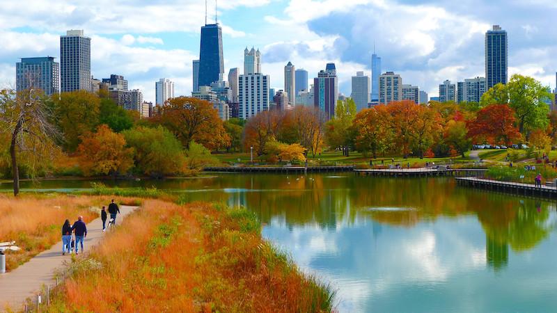Melhor época para conhecer Chicago: outono