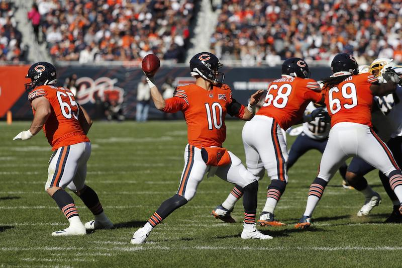 Partida de futebol americano do Chicago Bears