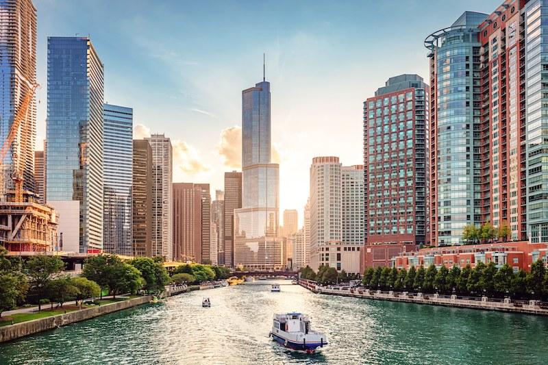 Verão em Chicago