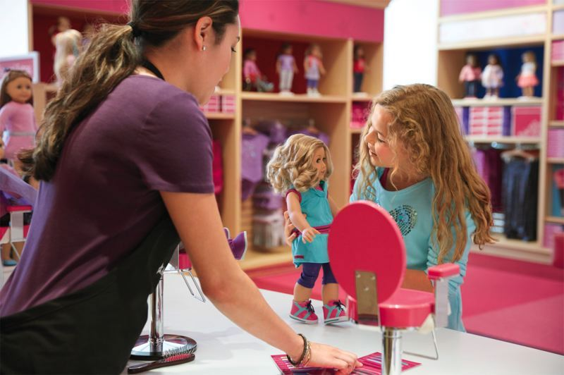 American Girl Place em Chicago