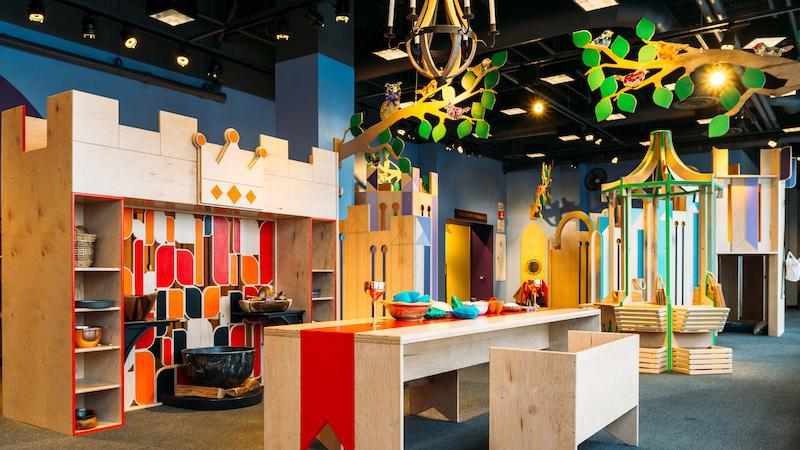Área do Children's Museum em Chicago