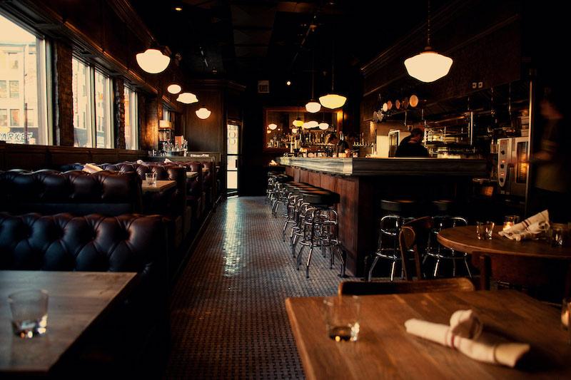 Restaurante Au Cheval em Chicago
