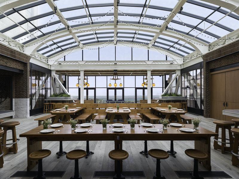 Restaurante Cindy's Rooftop em Chicago