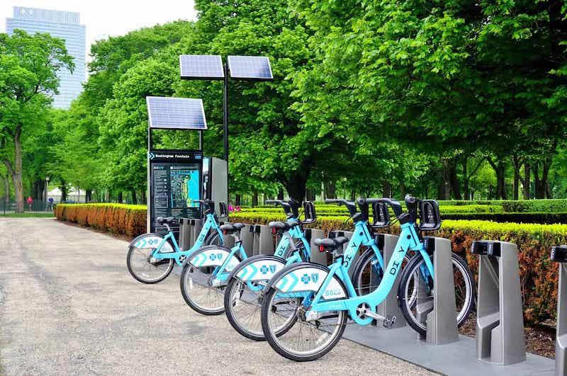 Bicicletas Divvy em Chicago