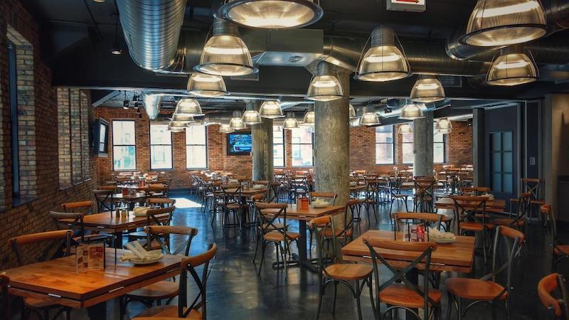Restaurante Giordano's em Chicago