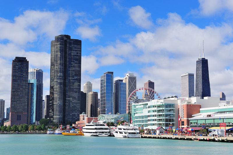 O que fazer no verão em Chicago: Navy Pier