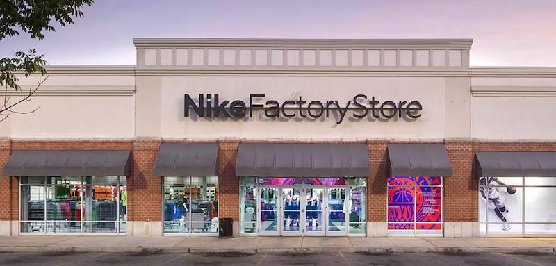 Nike Factory Store em Chicago