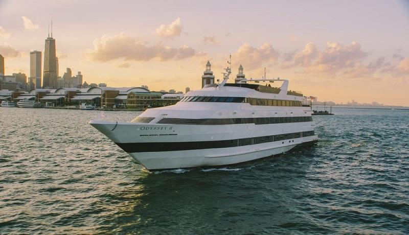 Odyssey Cruises no Lake Michigan em Chicago
