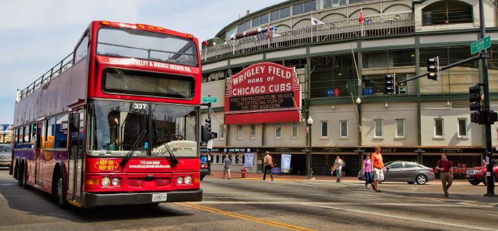 Ônibus turístico Chicago Trolley & Double Decker Co.