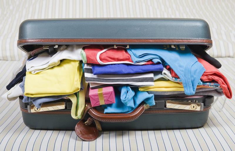 Alfândega em Chicago e nos Estados Unidos: produtos na mala de viagem