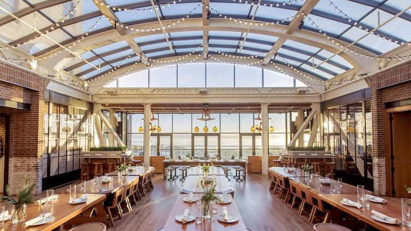 Melhores restaurantes em Chicago - Cindy's Rooftop