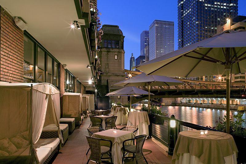 Restaurante River Roast em Chicago