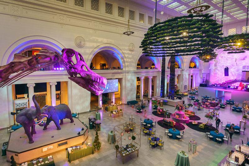 Field Museum em Chicago: salão principal