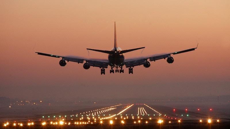 Avião em Chicago
