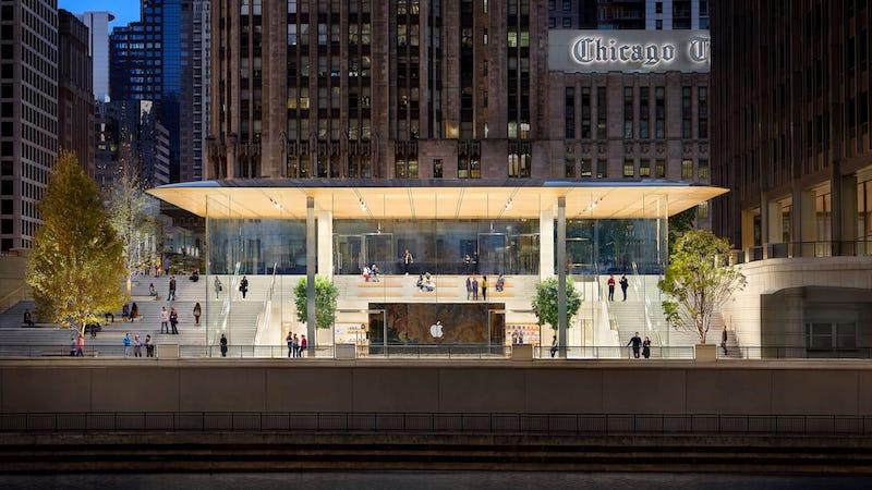 Onde comprar eletrônicos em Chicago: Apple Store