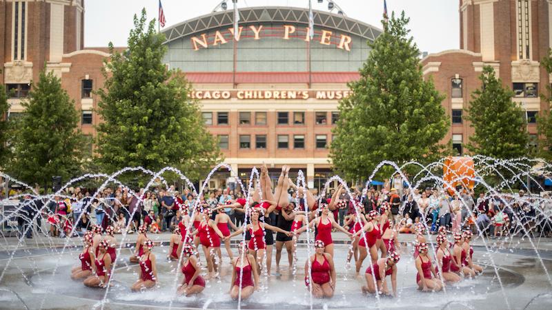 O que fazer no verão em Chicago: apresentação de verão no Navy Pier