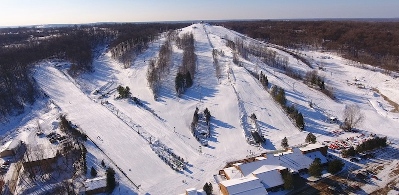 Onde esquiar em Chicago: Bittersweet Ski Resort em Otsego