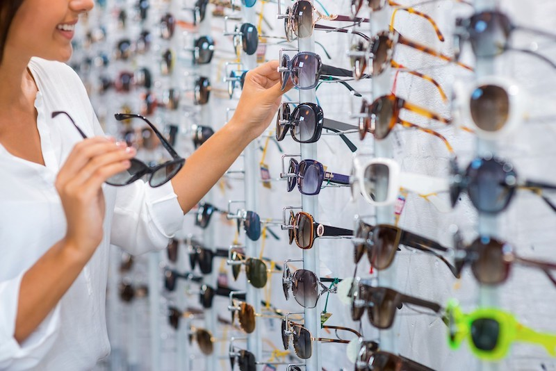 Onde comprar óculos de sol em Chicago