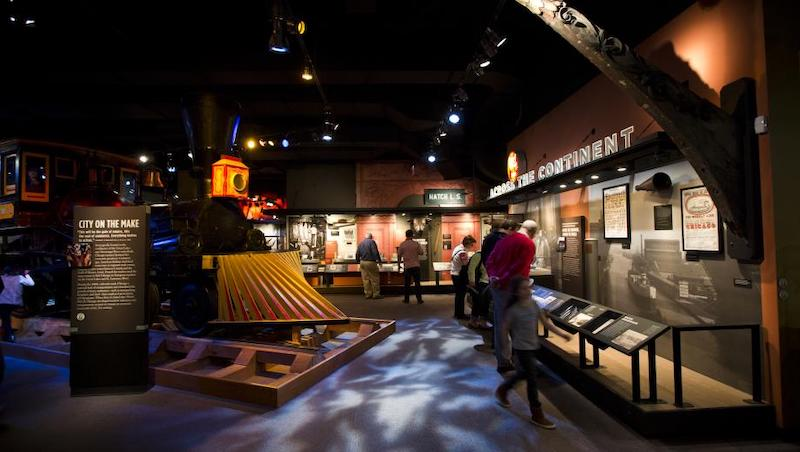Exposição no Chicago History Museum