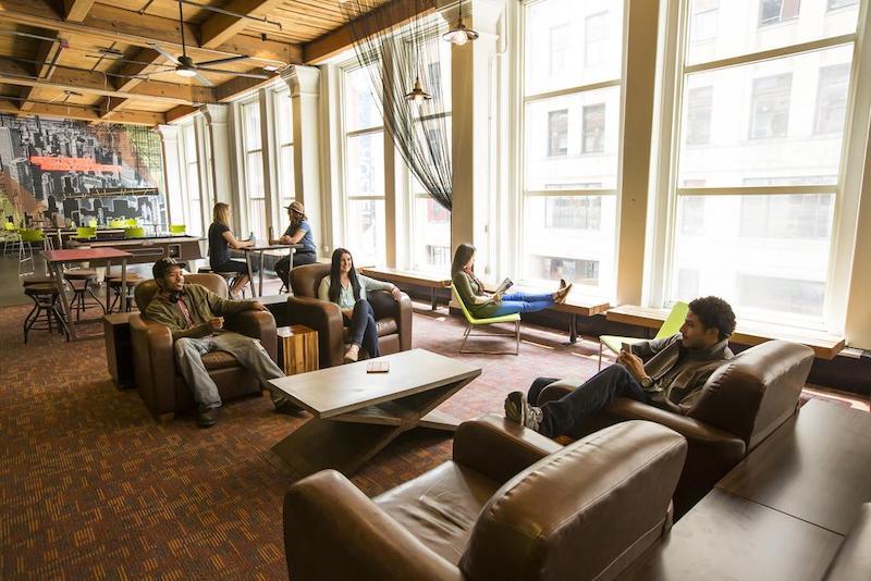 Melhores hostels em Chicago: hóspedes do hostel Hi Chicago