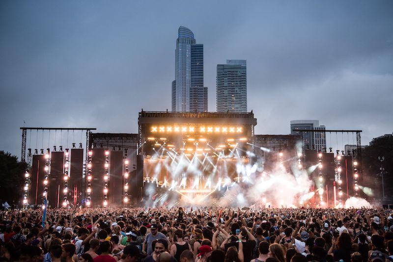 Grant Park em Chicago: Lollapalooza