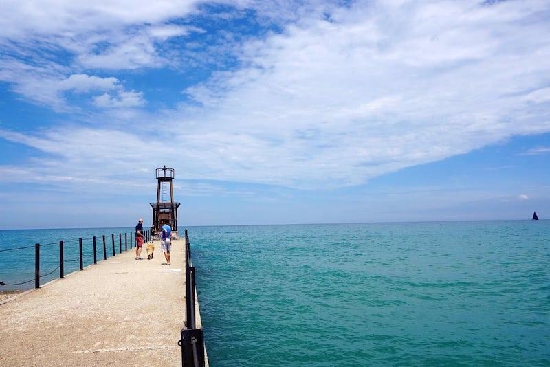 Melhores praias em Chicago: Loyola Beach Park