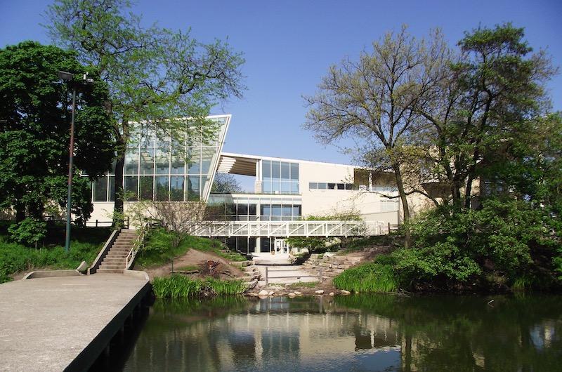 Edifício do Peggy Notebaert Nature Museum em Chicago
