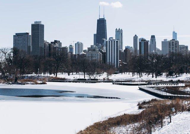 Quando neva em Chicago