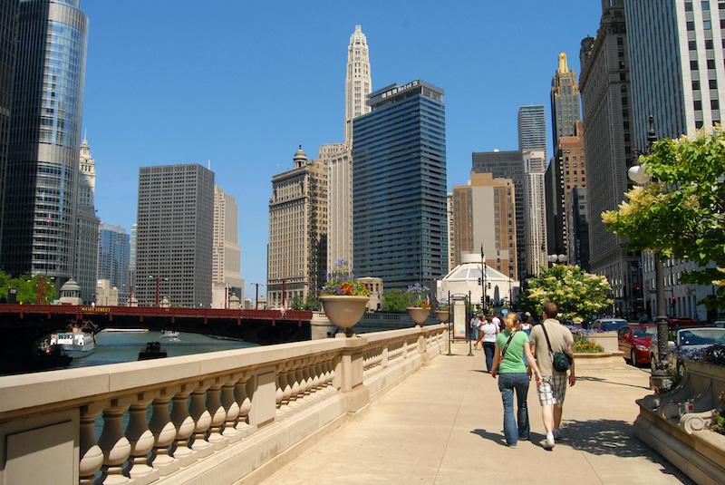 O que fazer no verão em Chicago: Chicago Riverwalk