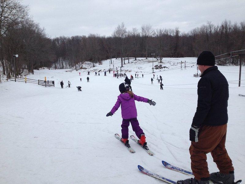 Pista de esqui Swiss Valley Ski & Snowboard Area em Jones
