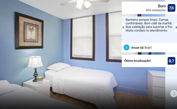 Melhores hostels em Chicago: quarto do hostel Chicago Parthenon