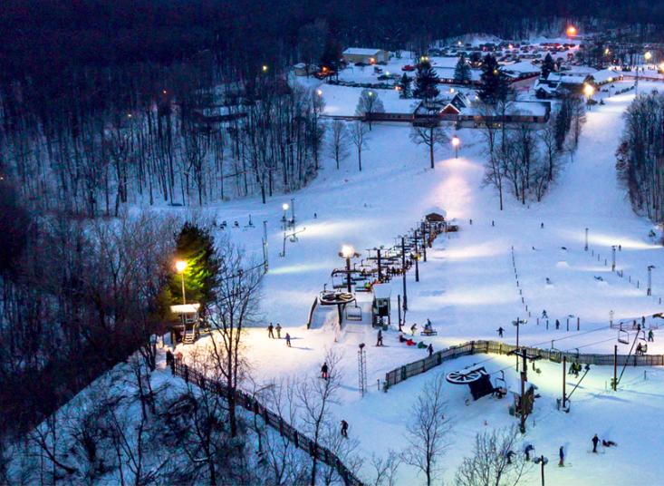 Onde esquiar em Chicago: Swiss Valley Ski & Snowboard Area em Jones
