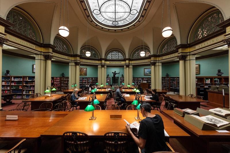 Art Institute of Chicago: biblioteca Ryerson & Burnham
