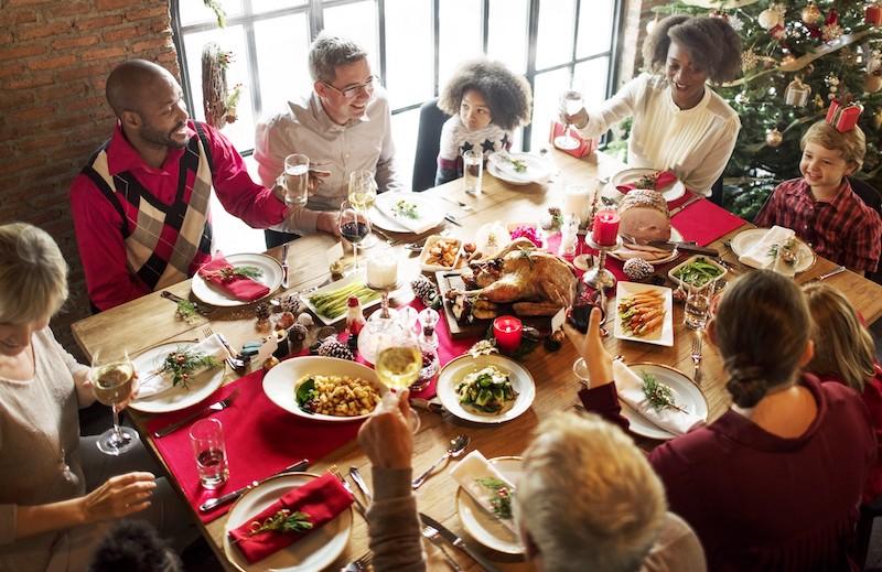Natal em Chicago: ceia de Natal