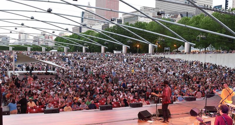 Millennium Park em Chicago: Chicago Blues Festival