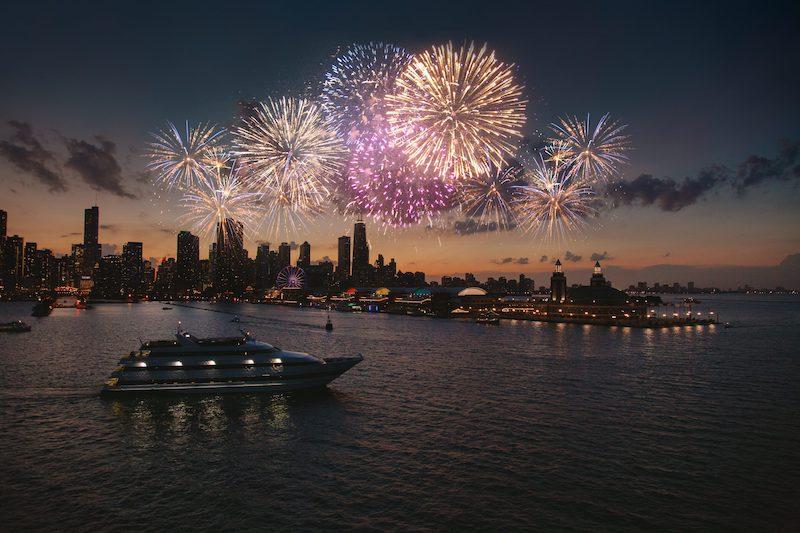 Cruzeiro Odyssey Cruises no Ano Novo em Chicago