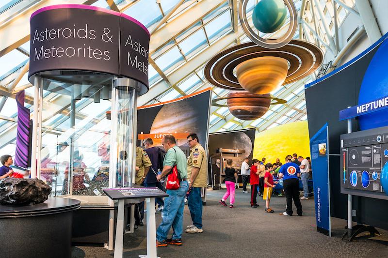 Adler Planetarium em Chicago: exposições