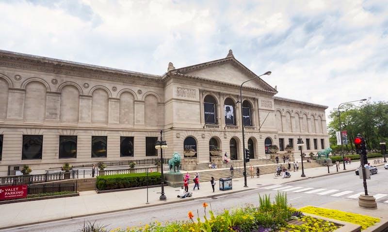 Grant Park em Chicago: Art Institute of Chicago
