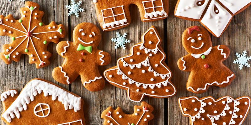 Natal em Chicago: biscoitos gingerbreads